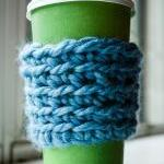 Blue Coffee Cozy Pack